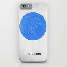 red square iPhone 6s Slim Case