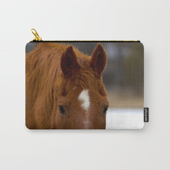 Red - The Auburn Horse Carry-All Pouch