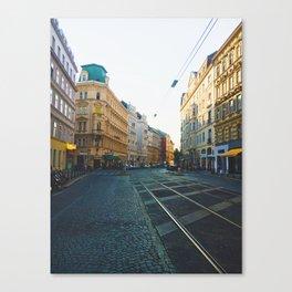 Vienna Street Canvas Print