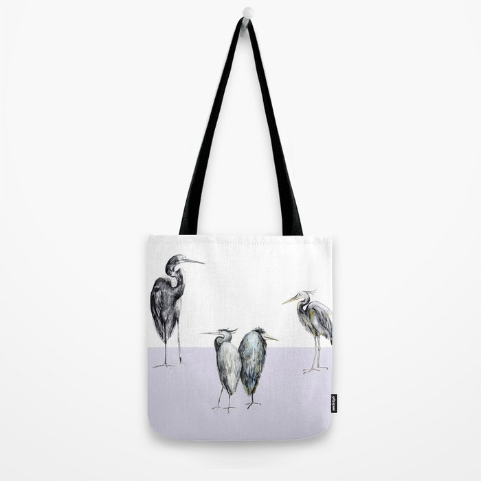 Are these herons or storks? Tote Bag