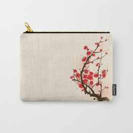 Oriental plum blossom in spring 012 Carry-All Pouch