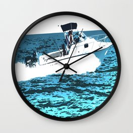 Out For The Day Wall Clock