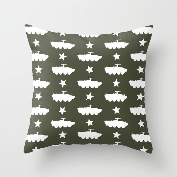 M1126 Stryker Pattern Throw Pillow