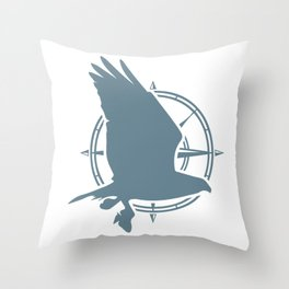 Osprey Cape Cod Throw Pillow