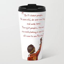 Positive Attitude Travel Mug