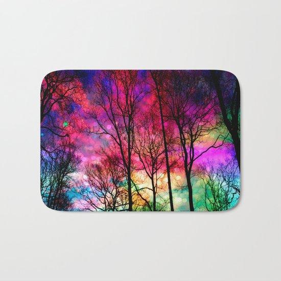 Colorful sky Bath Mat