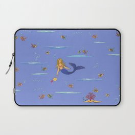 Fashionable mermaid - violet Laptop Sleeve