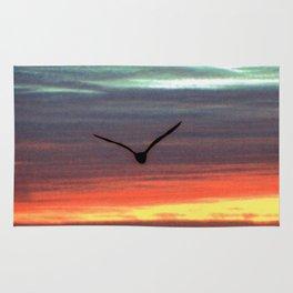 Black Gull by nite Rug