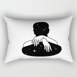 Hug the space Rectangular Pillow