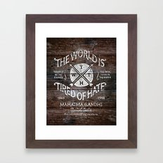 TWTH Framed Art Print