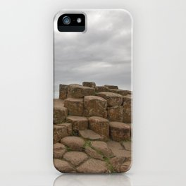 Giant's Causeway stones iPhone Case