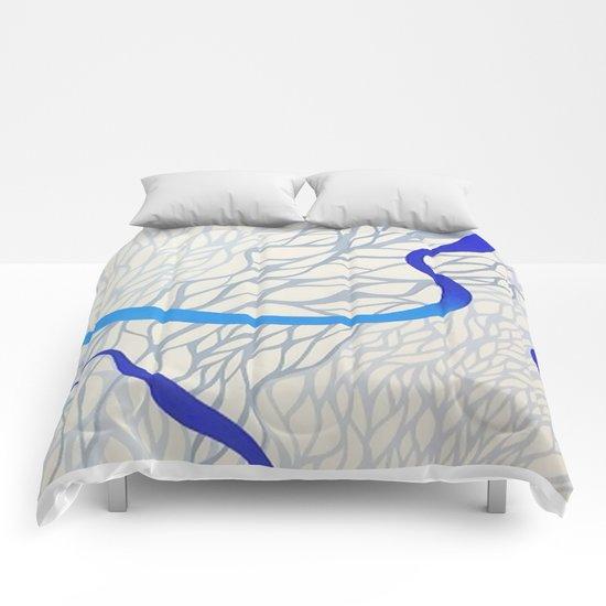 blu river Comforters