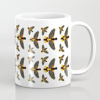 baltimore Mugs featuring Baltimore Oriole  by Alysha Dawn