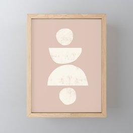 EIVISSA BLUSH Framed Mini Art Print