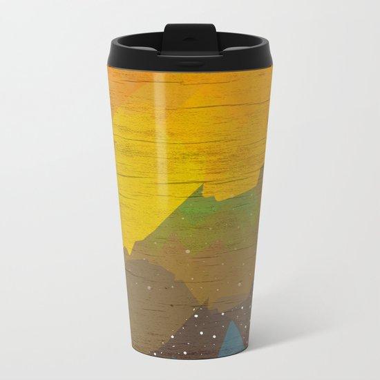 Cloudy Sea Metal Travel Mug