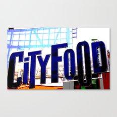 City Food Canvas Print