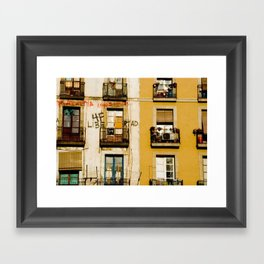 End of Occupation Framed Art Print