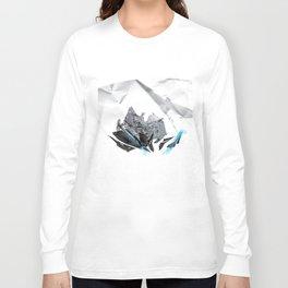 Blue Symbiote Long Sleeve T-shirt