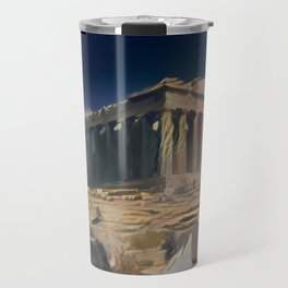 Ancient Light Parthenon Travel Mug