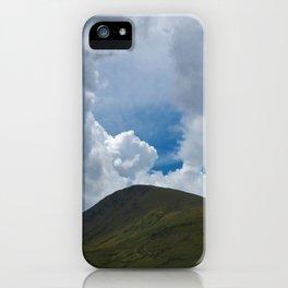 Mount Snowdown iPhone Case