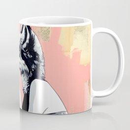 Mother Fox and Girl Coffee Mug