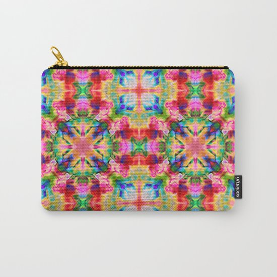 Colors of the kaleidoscope. Colorful ornament. Carry-All Pouch