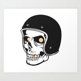 Bitcoin Hell Raiser Art Print