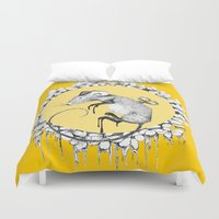 mouse Duvet Covers featuring Mouse by RiRi.in.Berlin