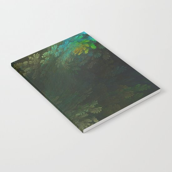 Abstract Fractal Design 2 - Vegetation and Forest Look Notebook