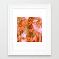 pumpkin Framed Art Prints featuring Pumpkin by Patty Weiler