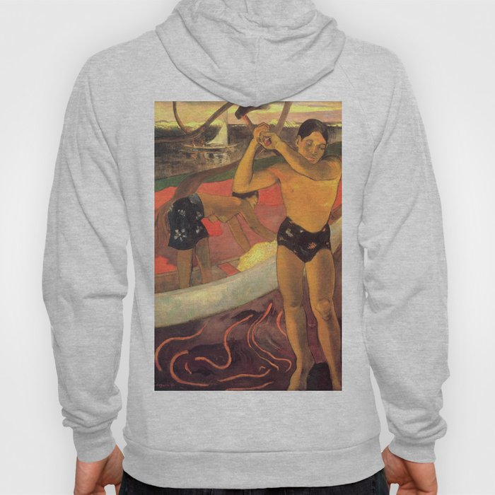 A man with an axe, L'homme à la hache - Paul Gauguin (1891) Hoody