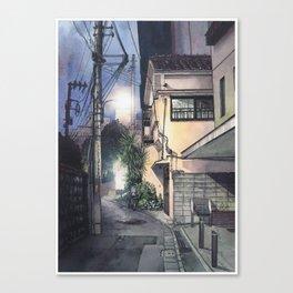 Tokyo at Night #09 Canvas Print