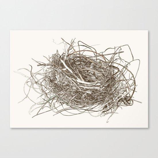 Wire Nest Canvas Print