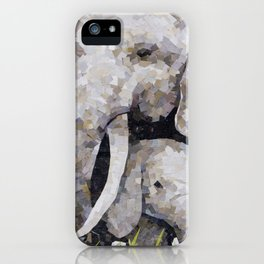 Bull and Baby iPhone Case