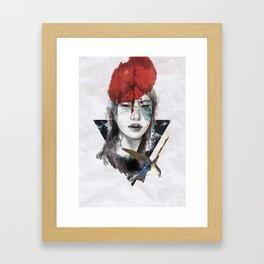 KILL ME Framed Art Print