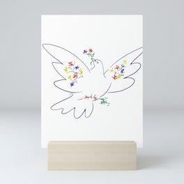 Picasso's Dove Mini Art Print