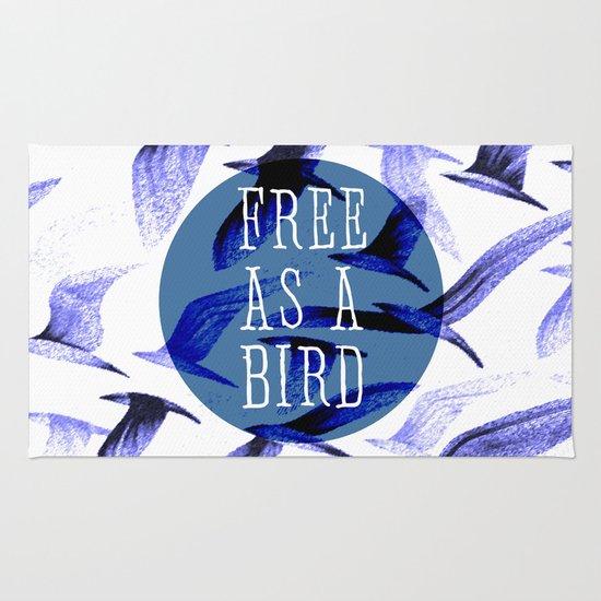 FREE AS A BIRD Rug