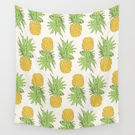 Solo Pineapple Wall Tapestry