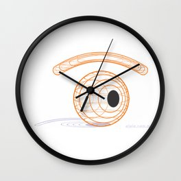visual structure Wall Clock