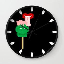Frankenstein Ice Block Wall Clock