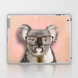 Funny koala with glasses Laptop & iPad Skin