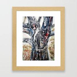 Point Reyes: How Bad Is It Bleeding? Framed Art Print