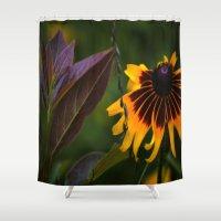 burgundy Shower Curtains featuring Burgundy BFFS! by gymmybob