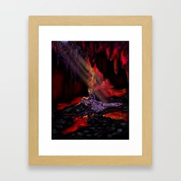 Personification of the First Chakra Framed Art Print