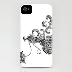 Peacock Love iPhone (4, 4s) Slim Case