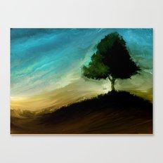 Meltree Canvas Print
