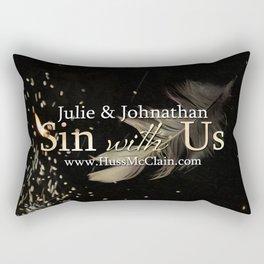 Sin With Us Rectangular Pillow