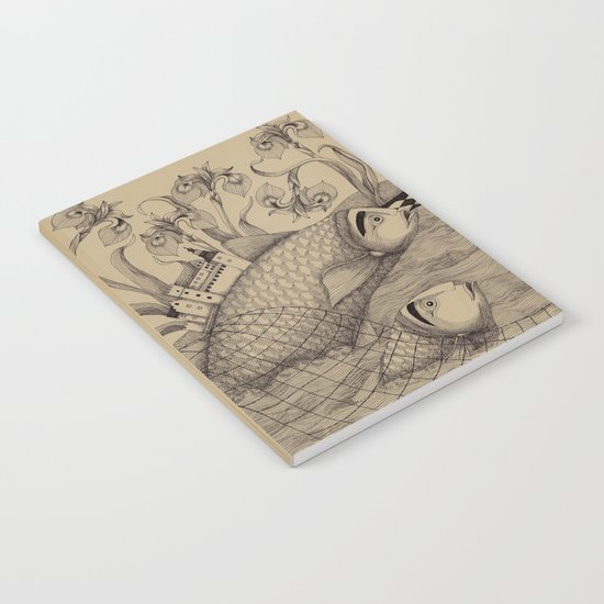 The Golden Fish (1) Notebook