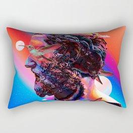 Gradient Statue Rectangular Pillow