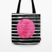 dot Tote Bags featuring Dot by Elisabeth Fredriksson